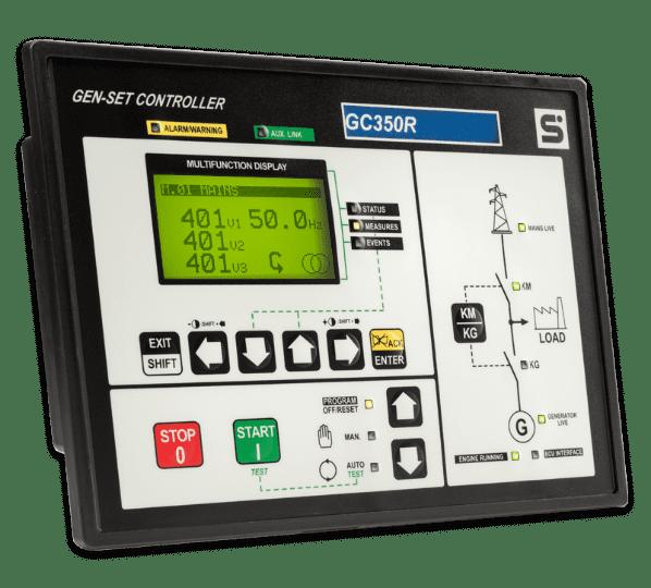 Controlador Marítimo Gc 350-r