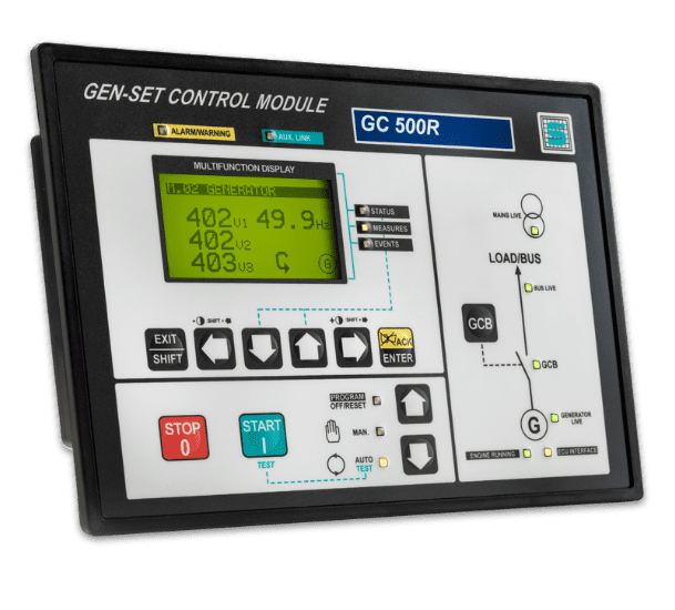 Controlador Paralelo Marine Gc 500-r